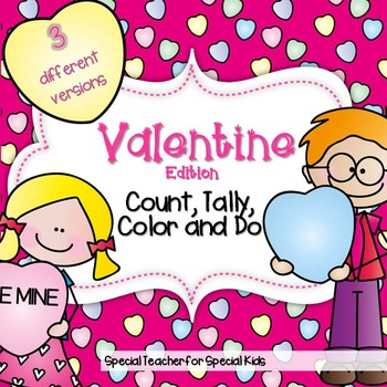 Valentine Edition* Color, Count, Tally & Do- Instant and I