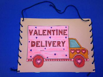 Valentine Envelope for Students