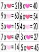 Valentine FREEBIE! Pocket Chart Math Centers (Sort: Missin