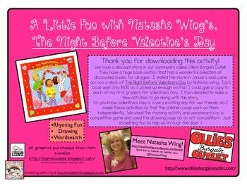 The Night Before Valentine's Day!~FREEBIE!