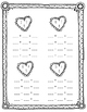 Valentine Fact Family Worksheets
