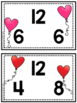 Valentine Fact Family Task Cards- Addition and Subtraction (K-2)