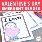 Valentine Free Emergent Reader: I love