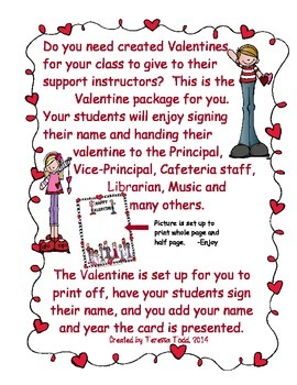 Valentine From the Class