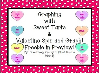 Valentine Graphing With Sweethearts and More CCSS Math! {F