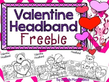 Valentine Headband Freebie