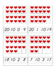 Valentine Heart 10 Frame and Making 10 Clip Cards
