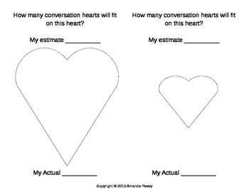 Valentine Heart Area Estimation