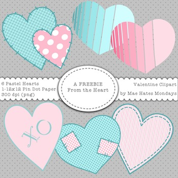 Valentine Heart Clipart Freebie - From the Heart