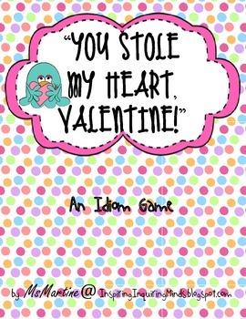 Valentine Idiom Cards