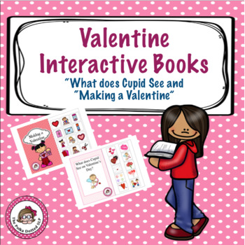 """Valentine Interactive Book - """"What Does Cupid See on Valen"""