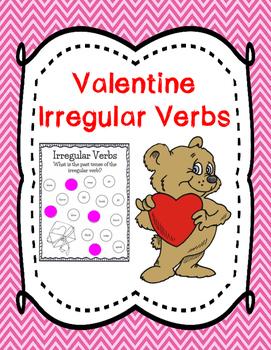 Valentine Irregular Verbs {{FREE}}