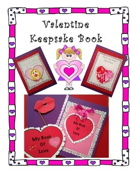 Valentine Keepsake Book