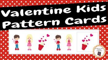 Patterns: Valentine Kids Pattern Cards