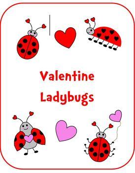 Valentine Ladybugs & Hearts Clipart