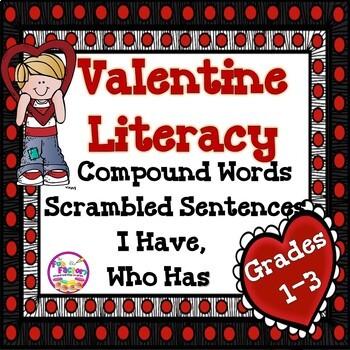 Valentine Literacy {Bundled Product}