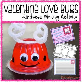 Valentine Love Bug Kindness Activity
