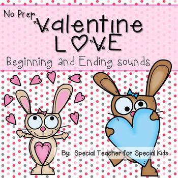 Valentine Love- No Prep Phonics