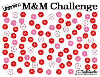 Valentine M&M Challenge
