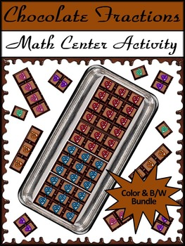 Valentine's Day Math & Easter Math Activities: Chocolate F