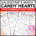 Valentine's Day Activities: Valentine's Day Math with Conversation Hearts