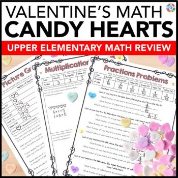 Valentine's Day Activities: Valentine's Day Math with Conv
