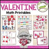 Valentine Math Activities Pack