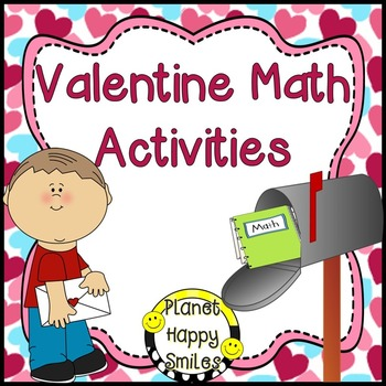 Valentine Math Activities ~ Whole Group and Stations/Cente