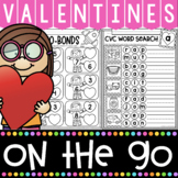 Valentines Day Kindergarten Printables Pack
