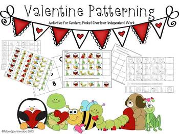 Valentine Math Patterning Activities
