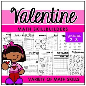 Valentine Math Skillbuilders