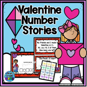 Valentine Math Stories