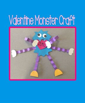 Valentine Monster Craft