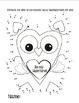 Valentine Owl Bulletin Board & Craftivity +bonus frames, d