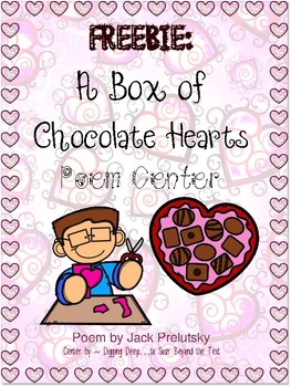 Valentine Poem Center: A Box of Chocolate Hearts