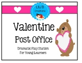 Valentine Post Office~ Dramatic Play Station