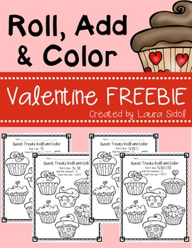 Valentine Roll, Add, and Color FREEBIE