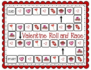 Valentine Roll and Race
