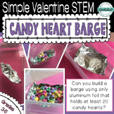 Valentine STEM: Candy Heart Barge