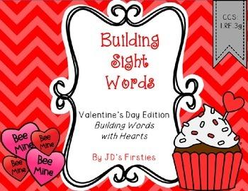 Valentine Sight Words