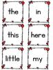 Valentine Sight Words Write the Room