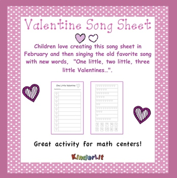 Valentine Song Sheet