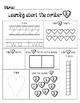 Valentine Subsitizing Numbers 1-10