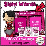 Sight Word Game - Tricky Love Bugs!
