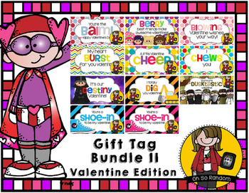 Valentine Tag | Bundle II