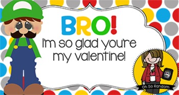 Valentine Tag   Luigi