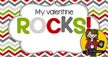 Valentine Tag | Rocks
