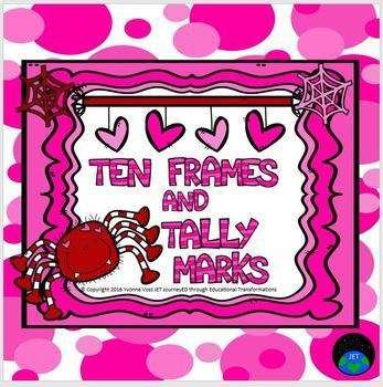 Valentine Ten Frames and Tally Marks