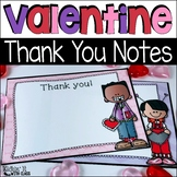 Valentine Thank You Notes {Editable}