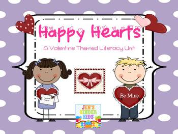 Valentine Themed LITERACY UNIT